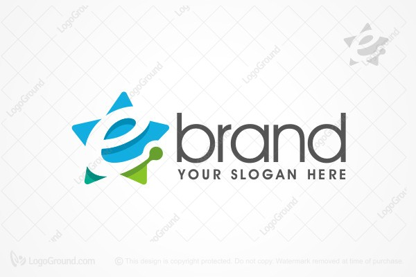 Logo for sale: E Star Logo