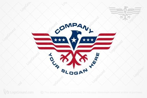Logo for sale: American Eagle Logo