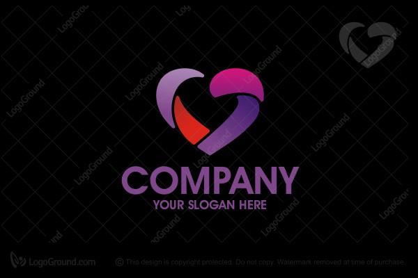 heart ribbons logo