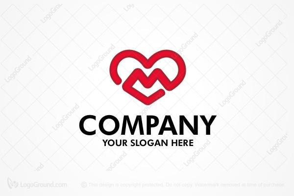 Logo For Sale Love M
