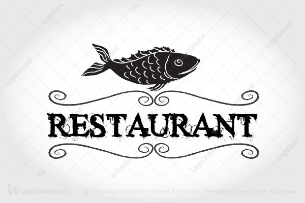 Exclusive Logo 42770 Seafood Restaurant Logo