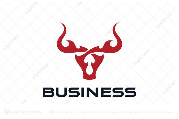 Logo for sale: Fire Bull Logo