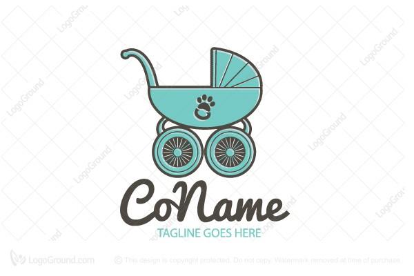 logo for sale pet babysitting logo