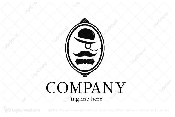 Exclusive Logo 37803, Dapper Gentleman Logo