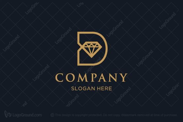 92bfa50a3a36 D Diamond Logo