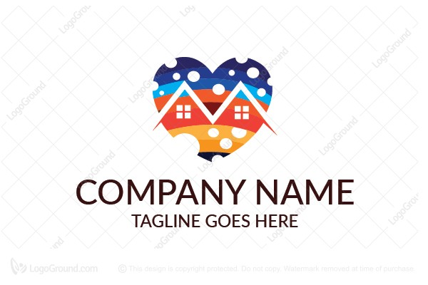 Logo for sale: Love Home Logo