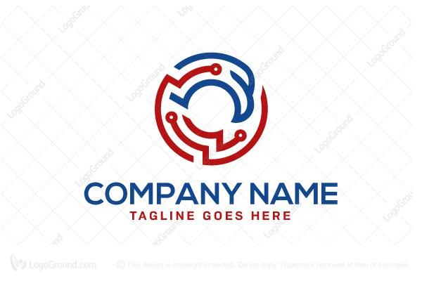 Exclusive Logo 50786, American Eagle Technology Logo