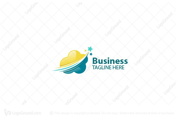Logo for sale: Cloud Logo