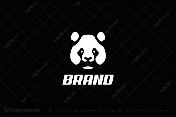 logo for sale panda bear logo