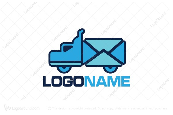 mail truck logo rh logoground com truck logo wraps truck logo psd