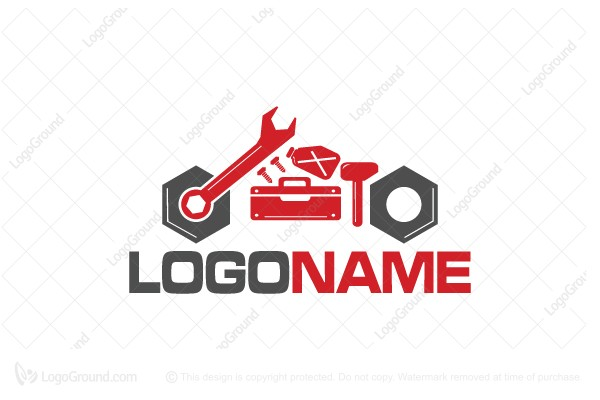 Logo for sale: Moto Garage Logo