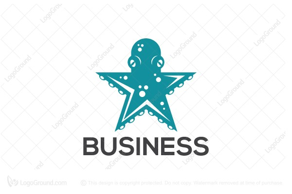 Logo for sale:  Octo Star Logo