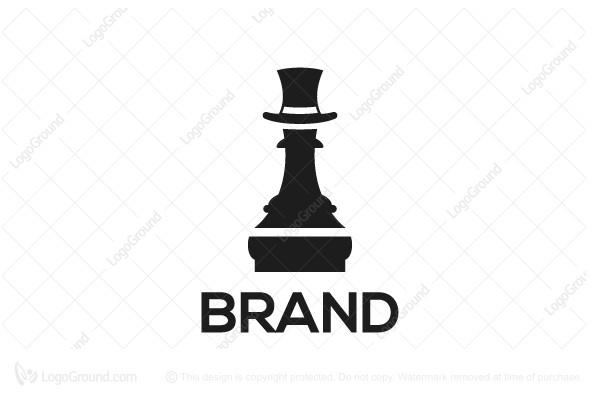 chess piece logo