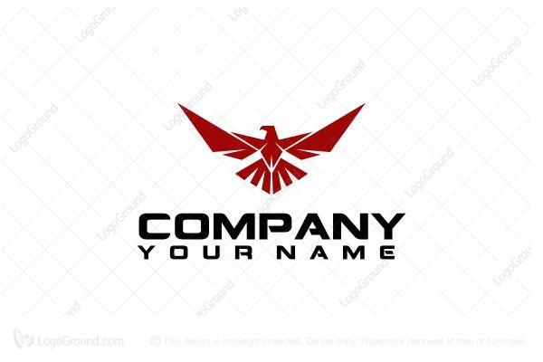 Exclusive Logo 51923, Eagle Wing Logo