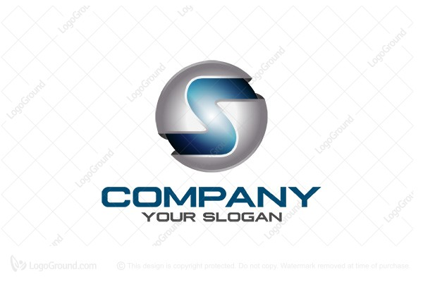Exclusive Logo 34065, Letters S or Z In 3d Logo