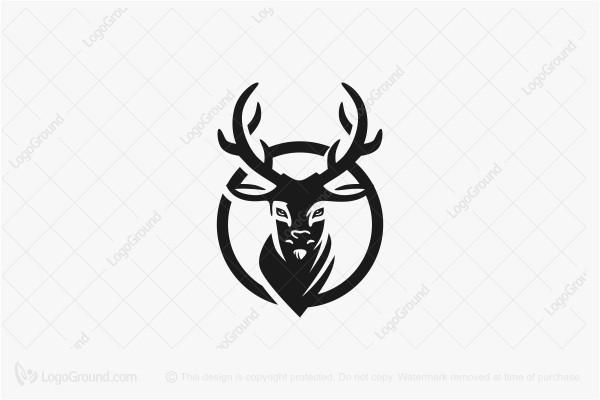 Elegant Deer Logos For Sale