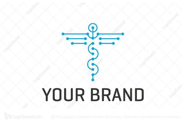 Logo for sale: Meditech Logo