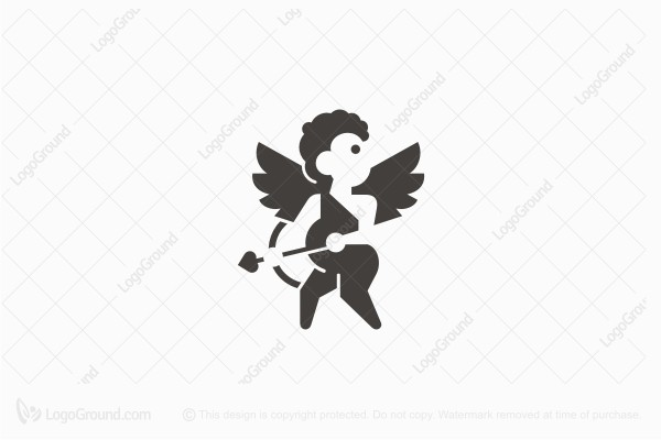 Logo for sale: Cupid Logo