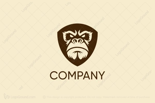 Logo for sale: Gorilla Shield Logo