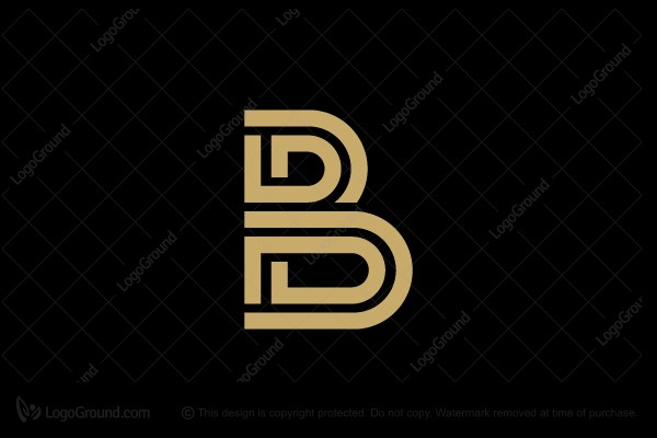 B Logo letter b logo