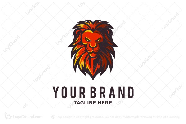 logo for sale lion logo design logo