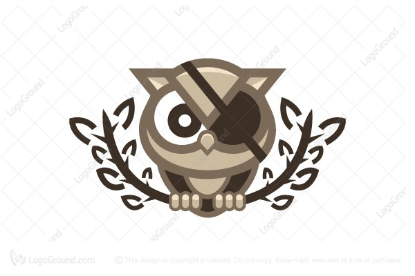 Logo for sale: Pirate Owl Logo