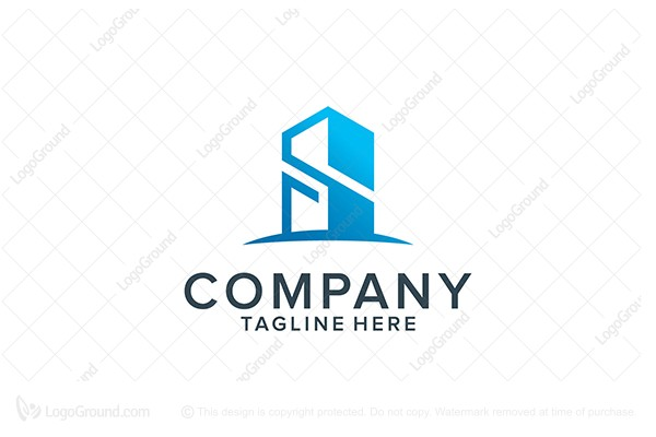Exclusive Logo 79297, Building S Letter Logo