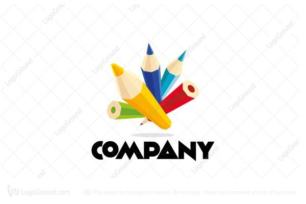 Pencils With Logo Arts