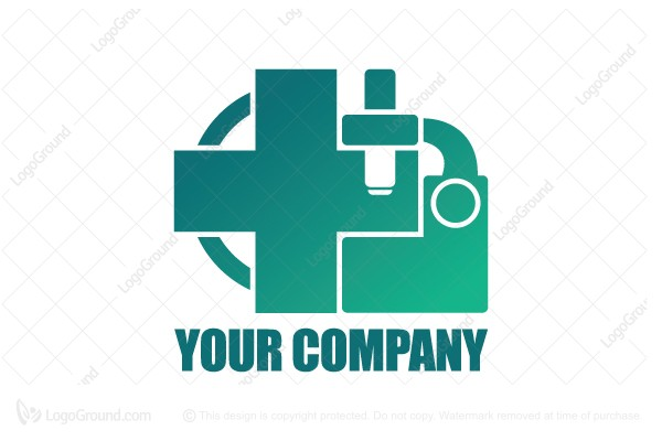 Logo for sale: Medical Lab Technologies Logo