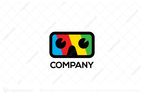 Logo for sale: Virtual Reality  Logo