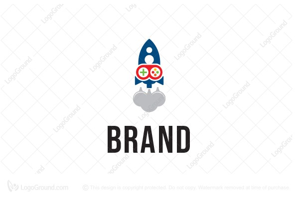 Exclusive Logo 76191, Game Rocket Logo