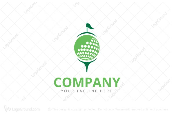 Logo for sale: Golf Logo