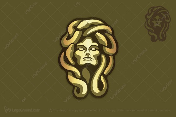 Logo for sale: Medusa Logo