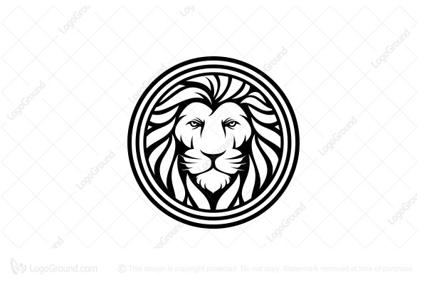 Logo for sale: Head Of Lion Logo