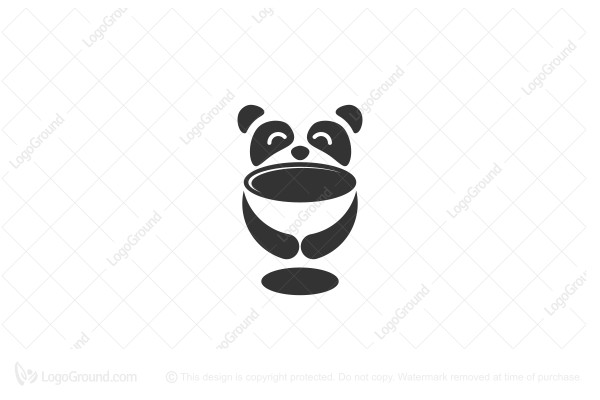 Logo for sale: Panda Cup Logo