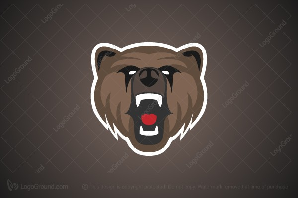 Logo for sale: Grizzly Bear Logo