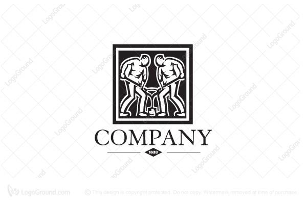 Exclusive Logo 104101, Foundry Logo