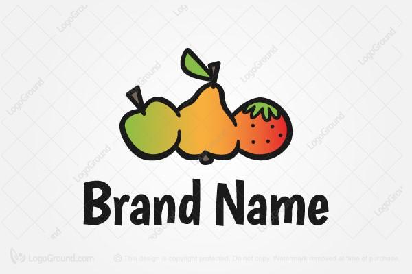 Exclusive Logo 72862, Fruits Logo