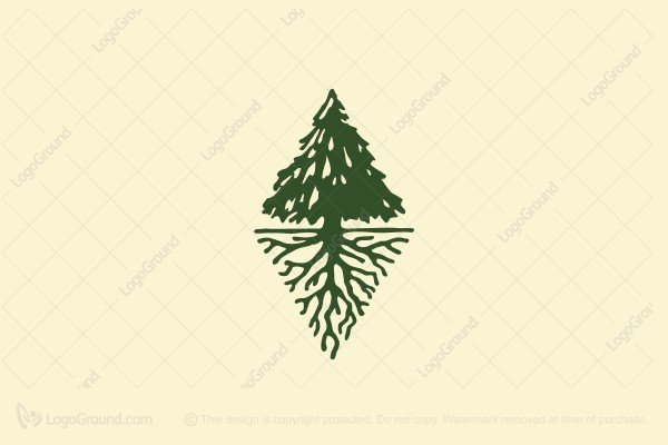 Logo for sale: Lone Pine Logo