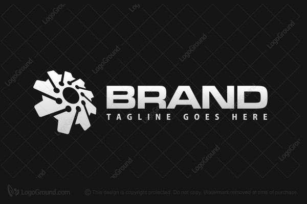 Logo for sale: Tech Engine Logo