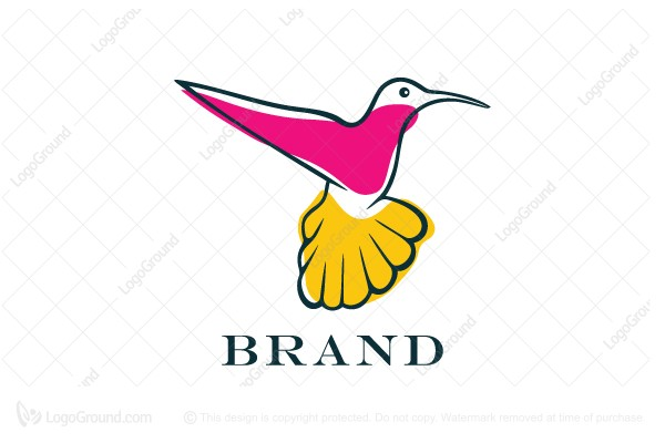 Logo for sale: Flying Bird Logo