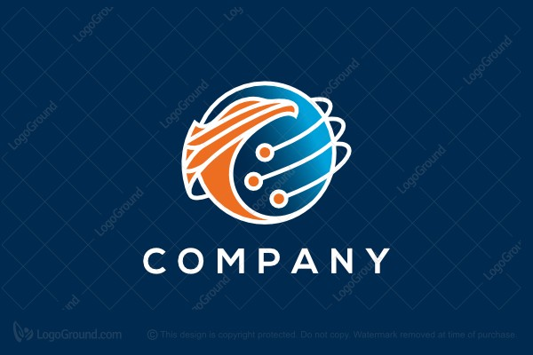 Logo for sale: Phoenix Sphere Tech Logo