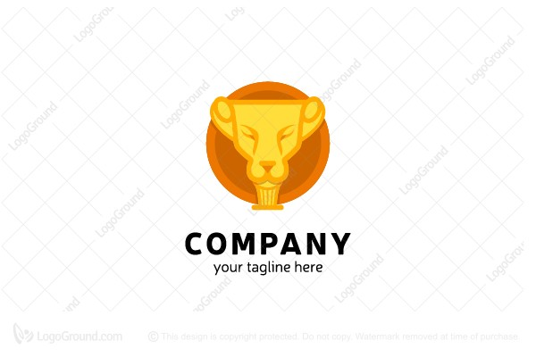 Logo for sale: Lion Champions Logo