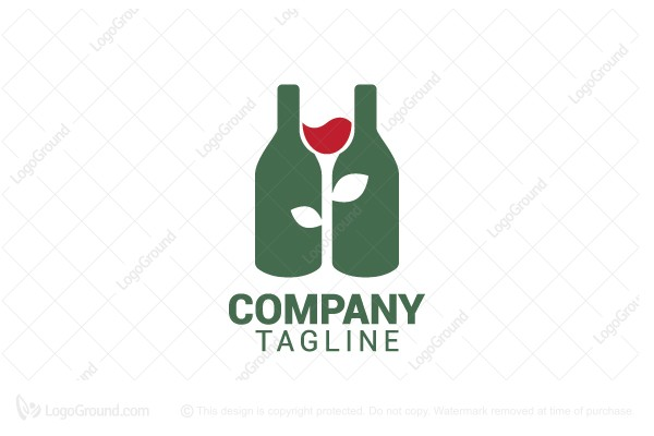 Logo for sale: Winegarden Logo