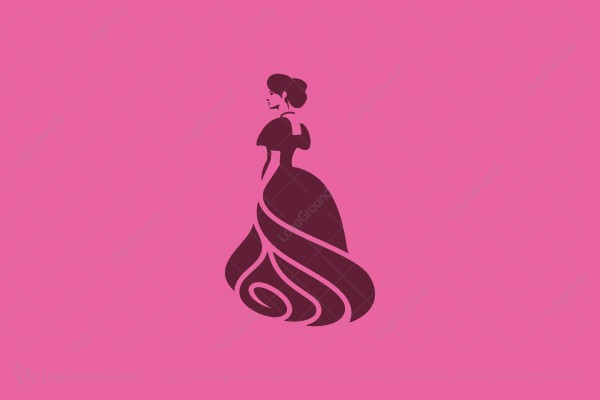 Logo for sale: Lady Rose Logo