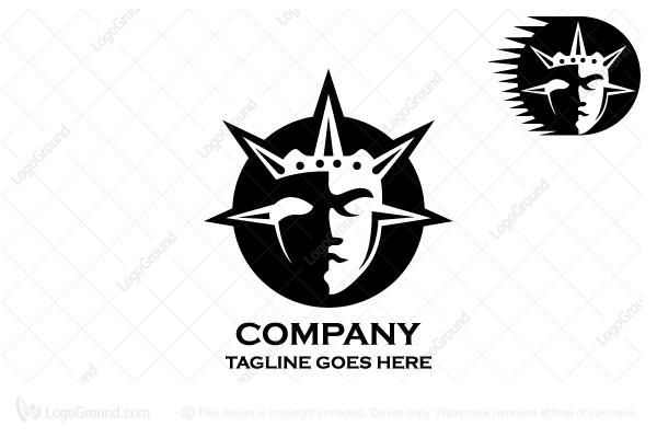 Helios God Of Sun Logo
