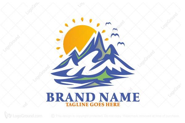 Sunny Mountains Logo