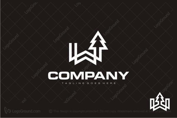 Logo For Sale Wood Company