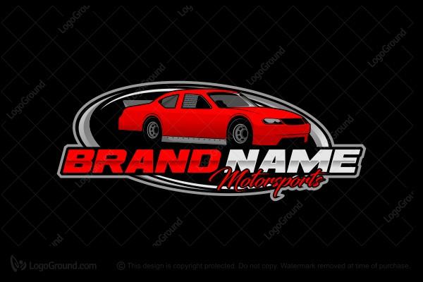 Race Car Logo