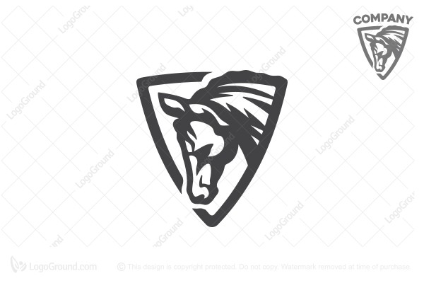 Logo for sale: Horse Head Logo